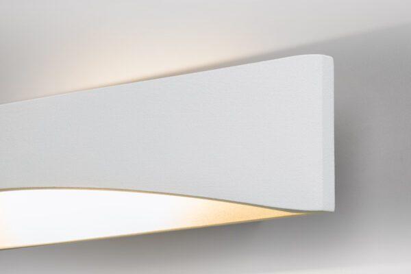 Lupia Licht Wandleuchte Impuls Weiß Detail