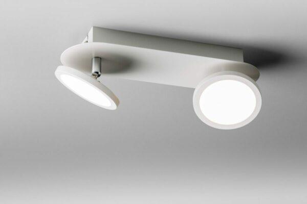 Lupia Licht Deckenleuchte Pook 2 Weiß