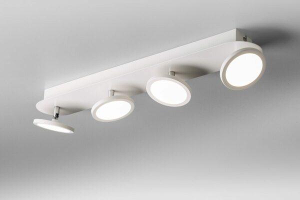 Lupia Licht Deckenleuchte Pook 4 Weiß