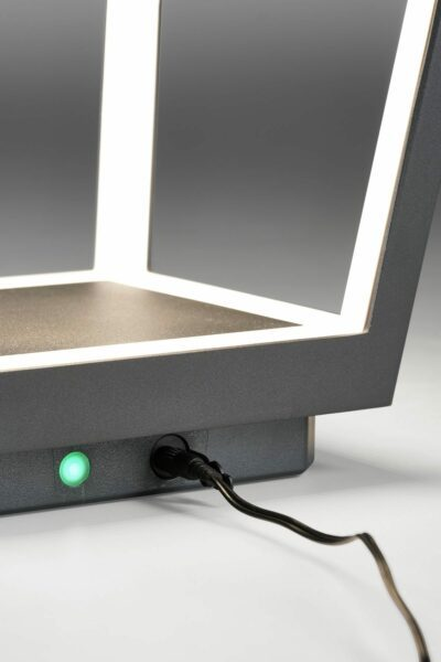 Lupia Licht Bodenaußenleuchte Matrix Akku LED Detail