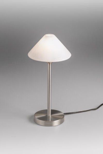 Lupia Licht Tischleuchte Nano Nickel Matt