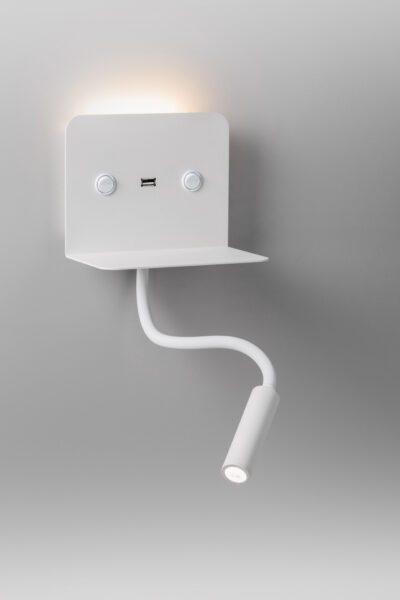 Lupia Licht Wandleuchte Rack Weiß