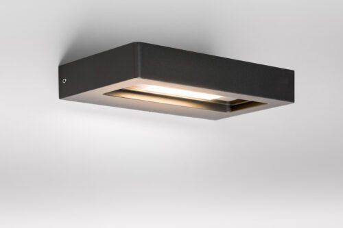 Lupia Licht Wandaußenleuchte Turn mit schwenkbarem Reflektor
