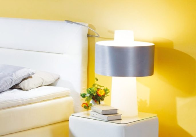 Das passende Beleuchtungskonzept für das Schlafzimmer