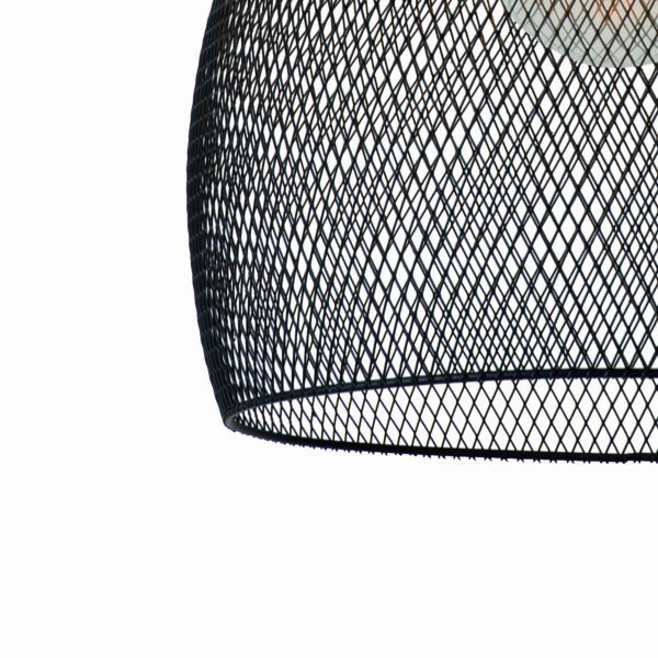 Lucide Pendelleuchte Mesh Ø 28 cm Detail Leuchtenschirm