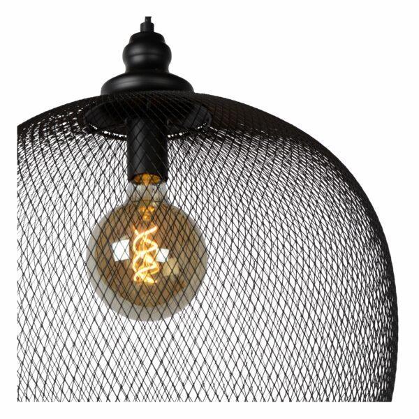 Lucide Pendelleuchte Mesh Ø 49 cm Detail Leuchtenschirm