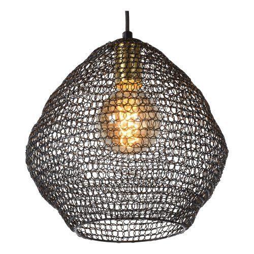 Lucide Pendelleuchte Saar Ø 28 cm Detail Leuchtenschirm