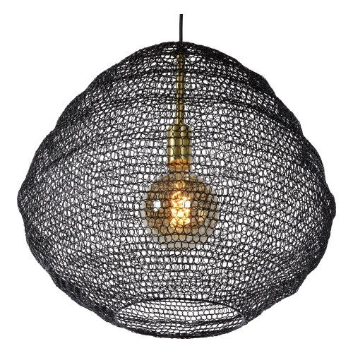 Lucide Pendelleuchte Saar Ø 38 cm Detail Leuchtenschirm