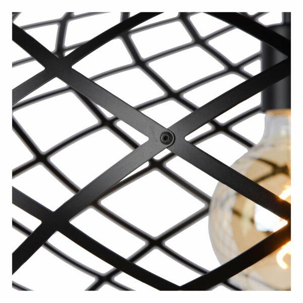 Lucide Pendelleuchte Wolfram Detail Leuchtenschirm Nahaufnahme
