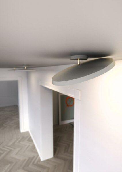 Nordlux Deckenleuchte Alba Pro 40 Weiß Kombination Detail