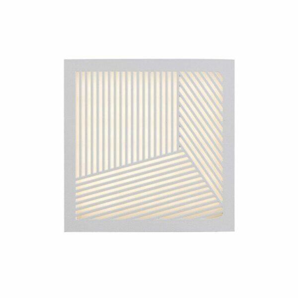 Nordlux Wandaußenleuchte Maze Straight Weiß