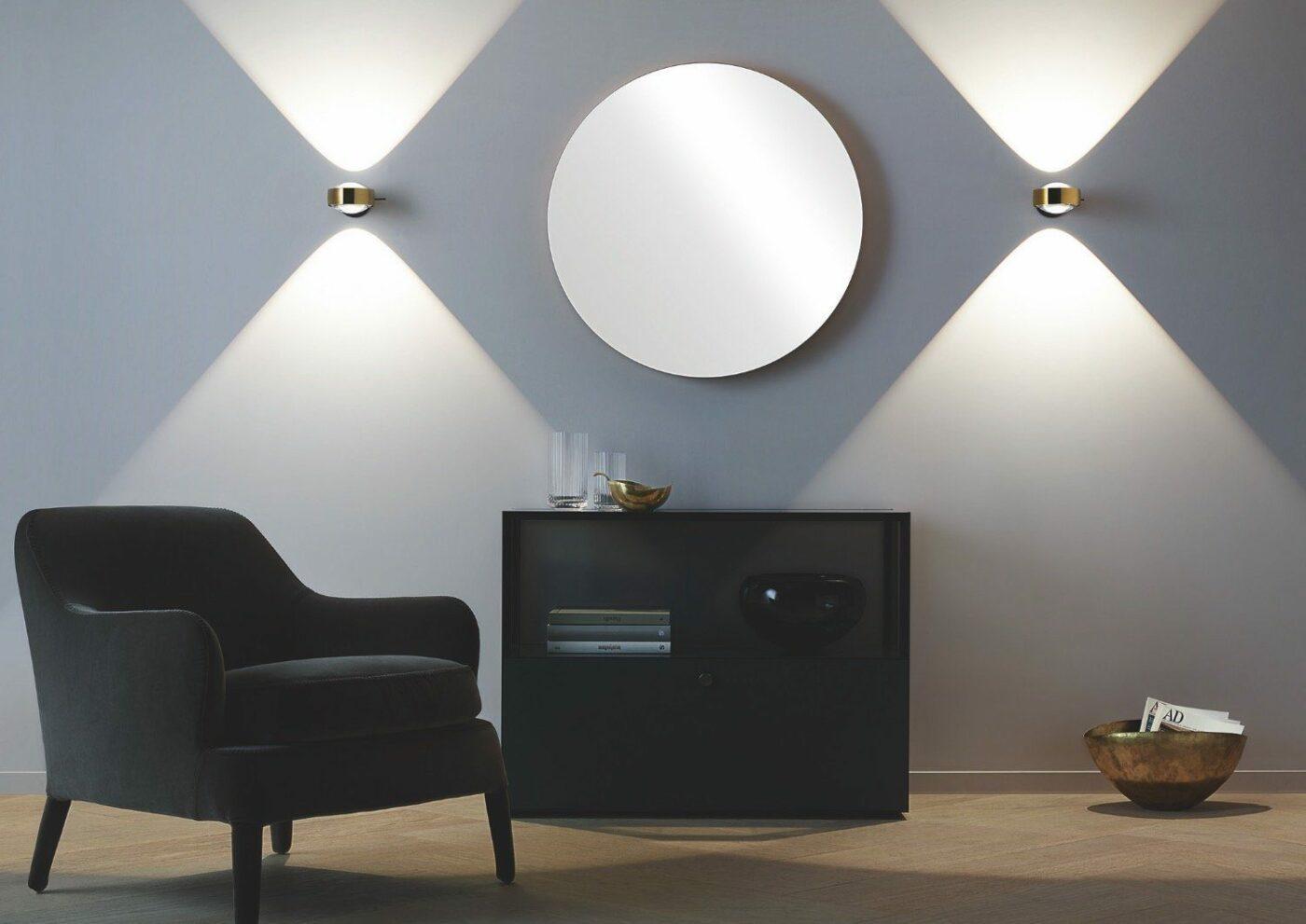 Wandstrahler für indirekte Beleuchtung von Occhio