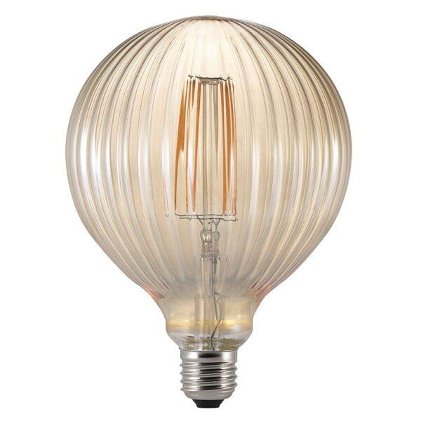 Nordlux Leuchtmittel Avra Stripes Globe 2 W Amber E27 / ersetzt 15 W - LED-Lampen
