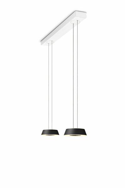 oligo-glance-pendelleuchte-2-flammig-mit-unsichtbarer-höhenverstellung-leuchtenschirm-schwarz-matt-baldachin-weiß-matt