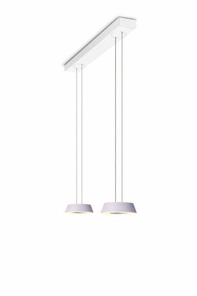 oligo-glance-pendelleuchte-2-flammig-mit-unsichtbarer-höhenverstellung-leuchtenschirm-viola-baldachin-weiß-matt