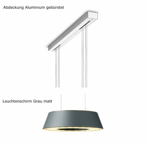 oligo-pendelleuchte-glance-2-flammig-mit-unsichtbarer-höhenverstellung-abdeckung-aluminium-gebürstet-leuchtenschirm-grau-matt