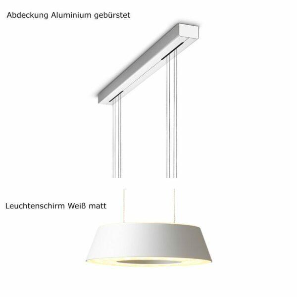 oligo-pendelleuchte-glance-2-flammig-mit-unsichtbarer-höhenverstellung-abdeckung-aluminium-gebürstet-leuchtenschirm-weiß-matt