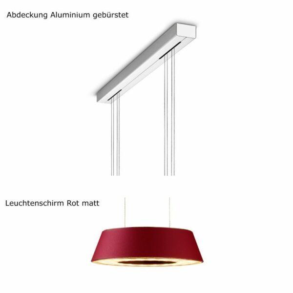 oligo-pendelleuchte-glance-2-flammig-mit-unsichtbarer-höhenverstellung-abdeckung-aluminium-matt-leuchtenschirm-rot-matt