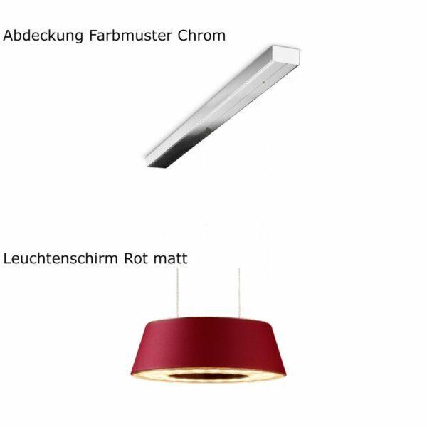 oligo-pendelleuchte-glance-2-flammig-mit-unsichtbarer-höhenverstellung-leuchtenschirm-rot-matt-abdeckung-chrom