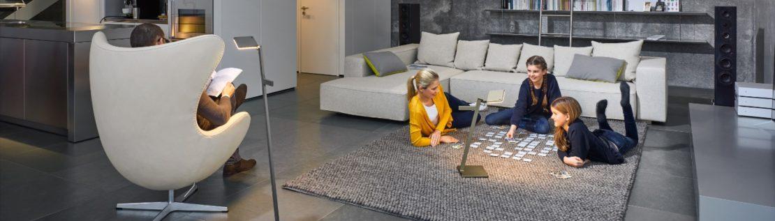 Lesen und Arbeiten im Wohnzimmer: Lampen für eine optimale Beleuchtung