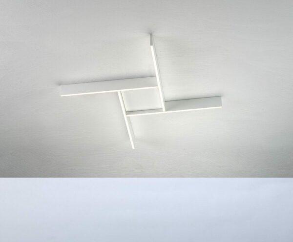 Bopp Deckenleuchte Nano Plus Comfort Weiß quadratisch