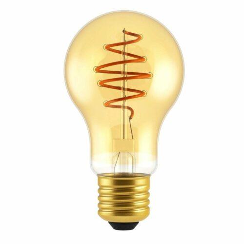 Nordlux LED-Filament Spiral Standard E27 Normale 4,5 W Gold, dimmbar / ersetzt 25 W - Lampen & Leuchten