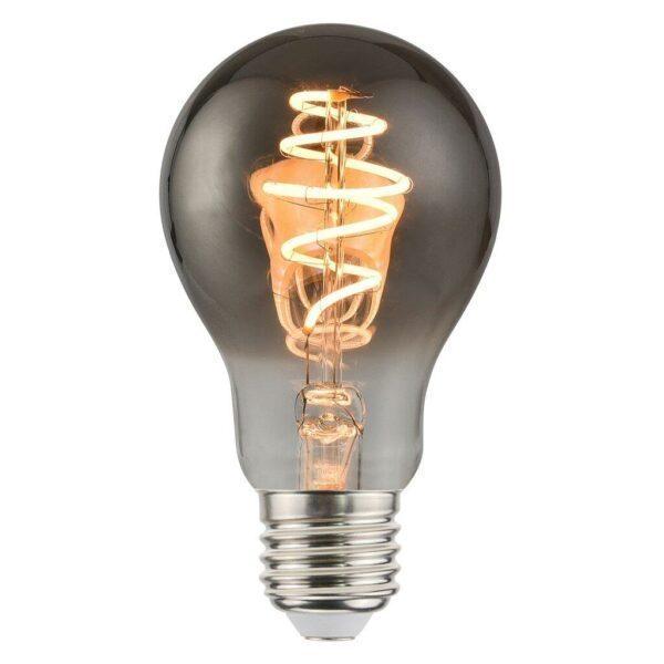 Nordlux LED-Filament Spiral Standard E27 Normale 4,5 W, Rauch, dimmbar / ersetzt 25 W - Lampen & Leuchten