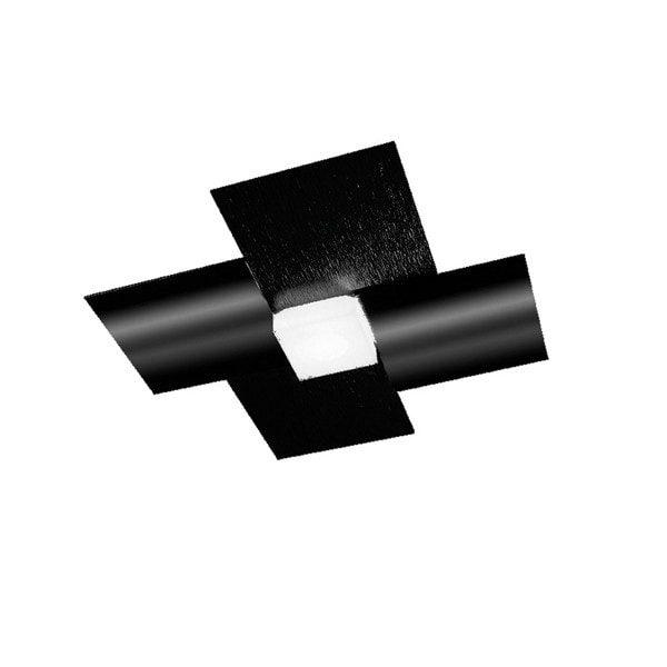 Grossmann Deckenleuchte Creo 1-flammig Schwarz glänzend