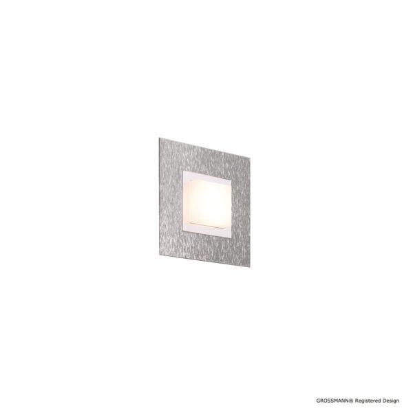 Grossmann Wand- und Deckenleuchte Basic 1-flammig Aluminium