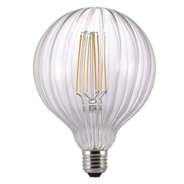 Nordlux LED-Filament-Leuchtmittel Avra Stripes 2 W E27 klar Globe