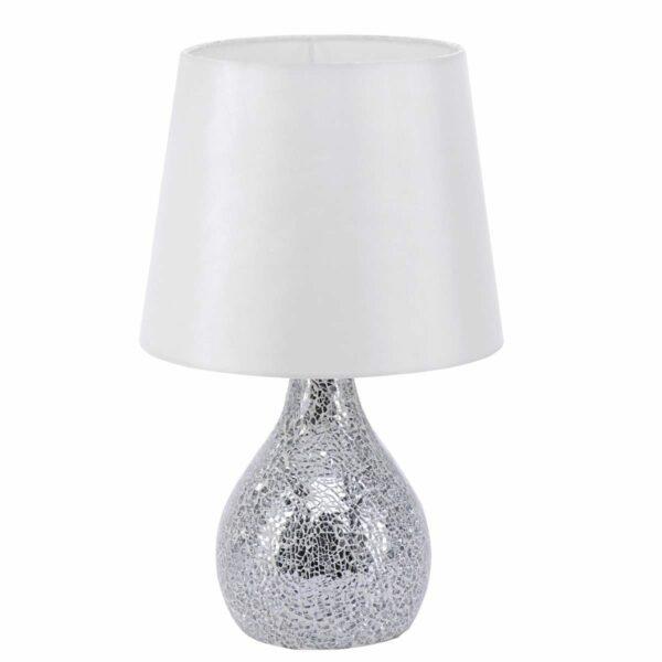 LeuchtenDirekt Tischleuchte Cornelius Weiß