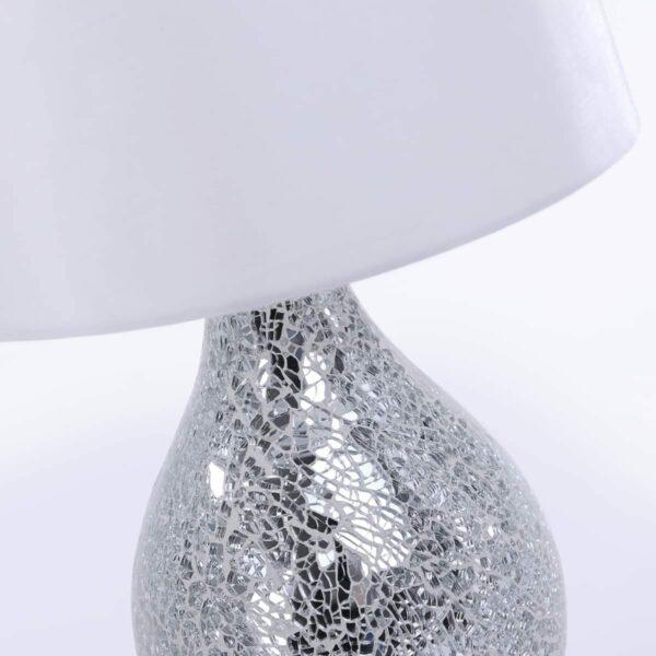 LeuchtenDirekt Tischleuchte Cornelius Weiß Detailansicht