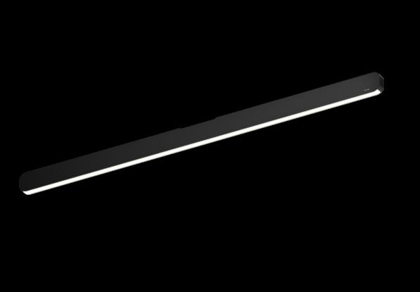 Occhio Deckenleuchte Mito alto linear 100 up Schwarz matt