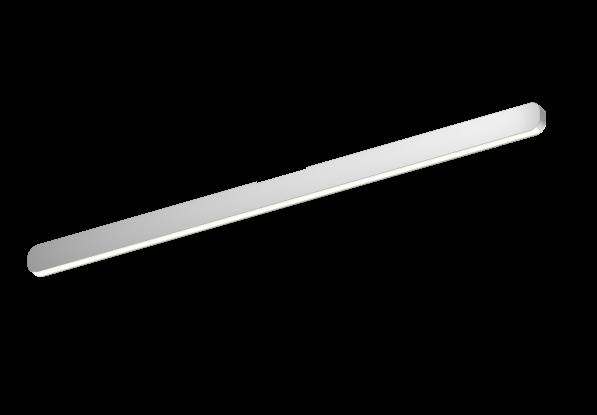 Occhio Deckenleuchte Mito alto linear 100 up Silber matt