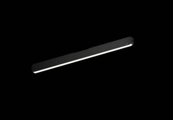Occhio Deckenleuchte Mito alto linear 70 up Schwarz matt