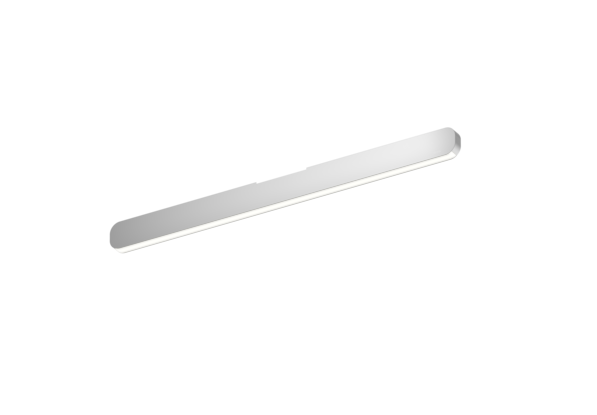 Occhio Deckenleuchte Mito alto linear 70 up Silber matt