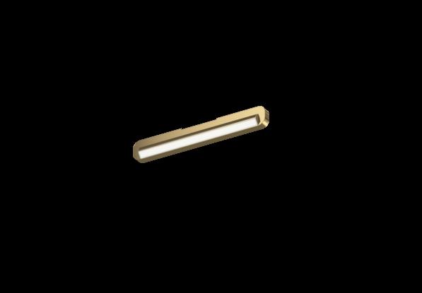 Occhio Deckenleuchte Mito alto linear side 40 up Bronze