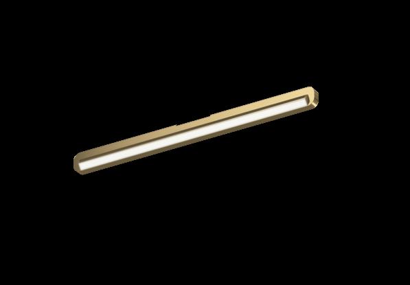 Occhio Deckenleuchte Mito alto linear side 70 up Bronze