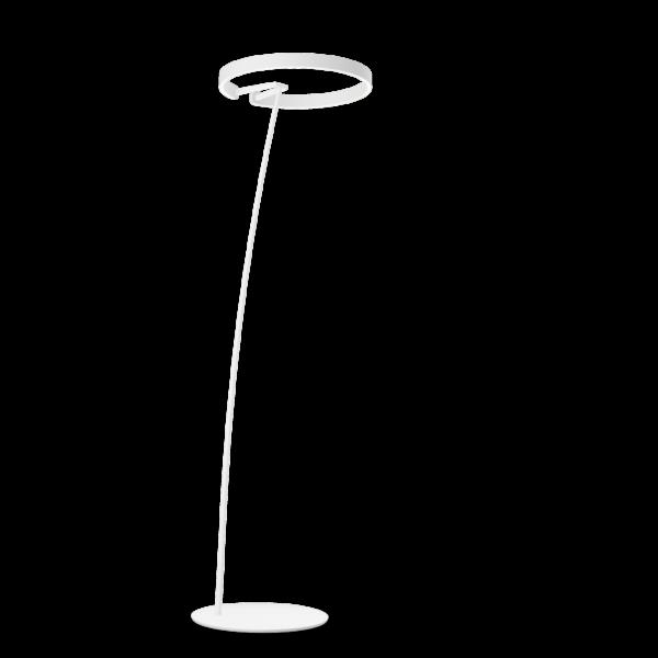 Occhio Stehleuchte Mito Raggio Weiß matt/Weiß matt