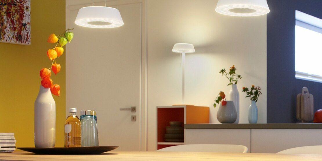 Beispiel für verschiedene Leuchten- und Lichtarten
