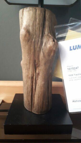 Paul Neuhaus Tischleuchte Abuja Braun Ausstellungsstück Leuchtenfuß