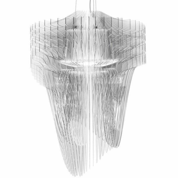 Slamp Pendelleuchte Aria Small Transparent
