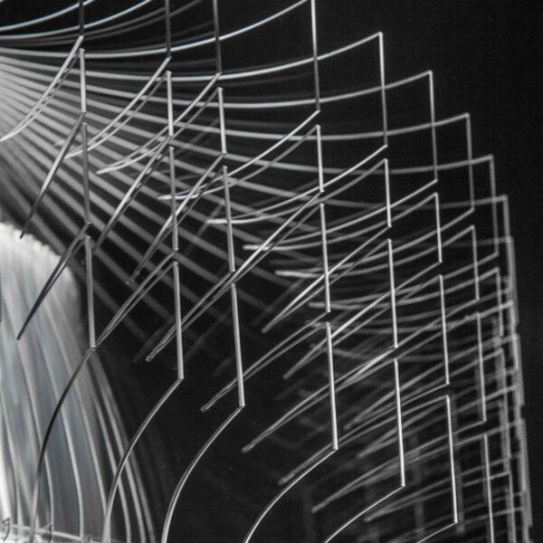 Slamp Pendelleuchte Aria Small Transparent Detail Leuchtenschirm