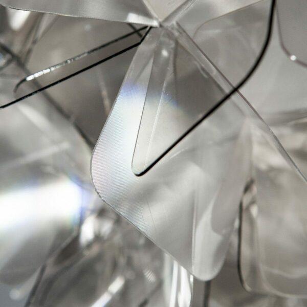 Slamp Pendelleuchte Clizia Large Fumé Detail Leuchtenschirm