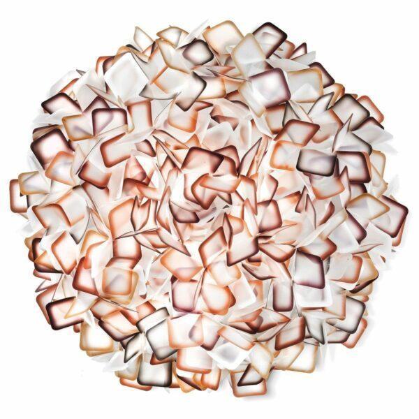 Slamp Wand- und Deckenleuchte Clizia Large Orange