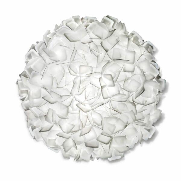 Slamp Wand- und Deckenleuchte Clizia Large Weiß