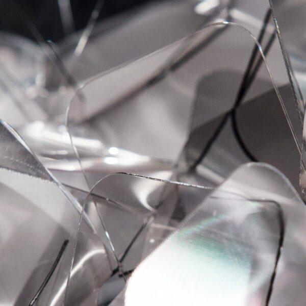 Slamp Wand- und Deckenleuchte Clizia Mini Fumé/Grau Detail Leuchtenschirm