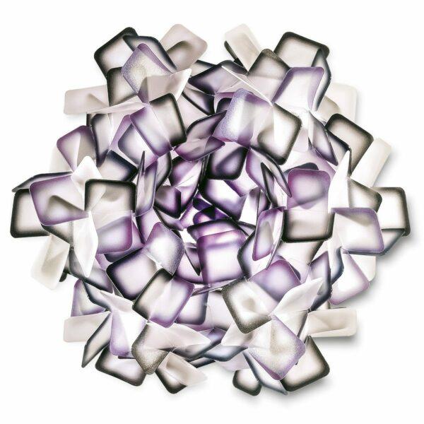Slamp Wand- und Deckenleuchte Clizia Mini Violett