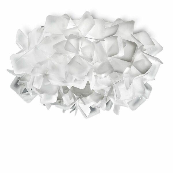Slamp Wand- und Deckenleuchte Clizia Mini Weiß