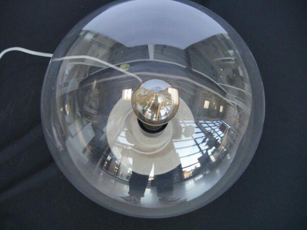 It's about Romi Tischleuchte Warsaw Leuchtenschirm von oben